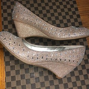 Nicole wedges shoes